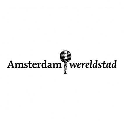 free vector Amsterdam wereldstad