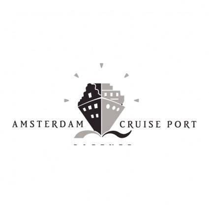 free vector Amsterdam cruise port