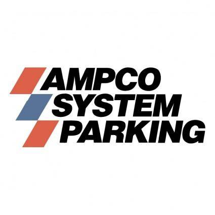 free vector Ampco system parking