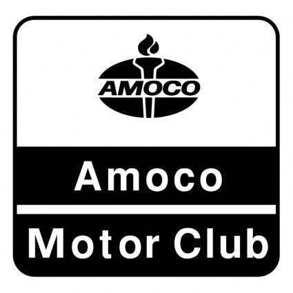 free vector Amoco motor club
