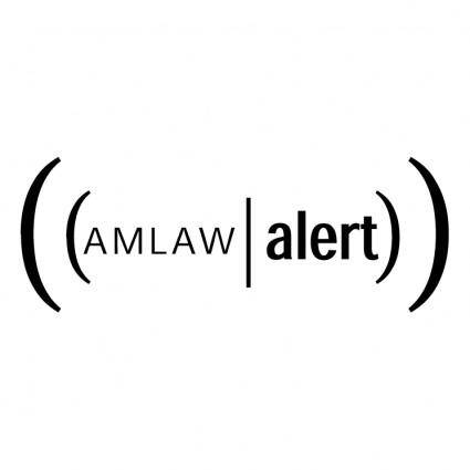 free vector Amlaw alert