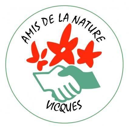 free vector Amis de la nature vicques