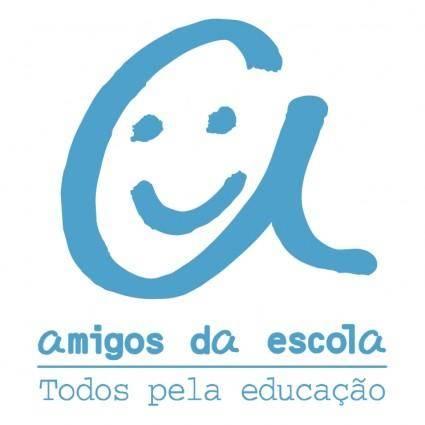 free vector Amigos da escola