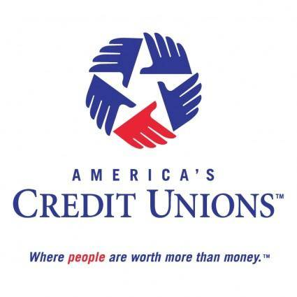 free vector Americas credit unions