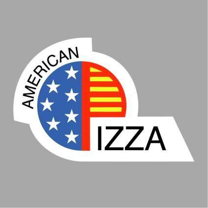 free vector American pizza