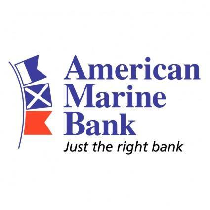 free vector American marine bank