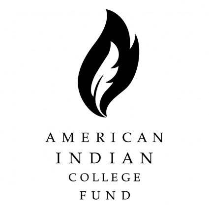 free vector American indian college fund