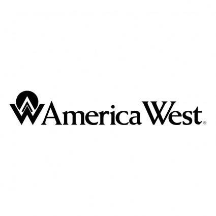 free vector America west