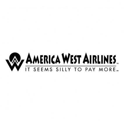 free vector America west airlines 0