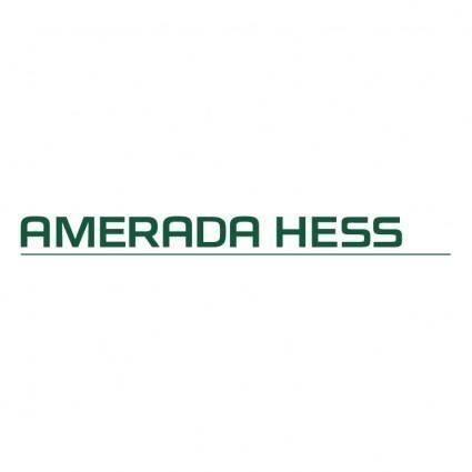 free vector Amerada hess