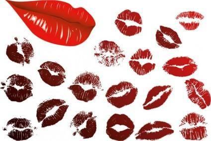 free vector Lips lip vector