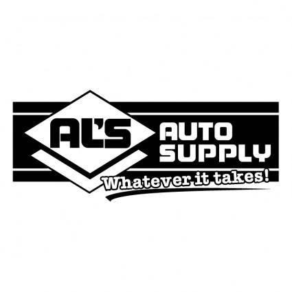 free vector Als auto supply