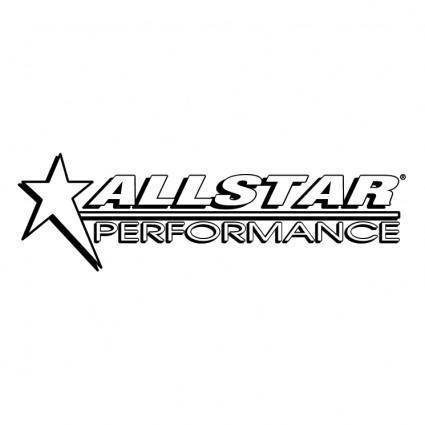 free vector Allstar performance