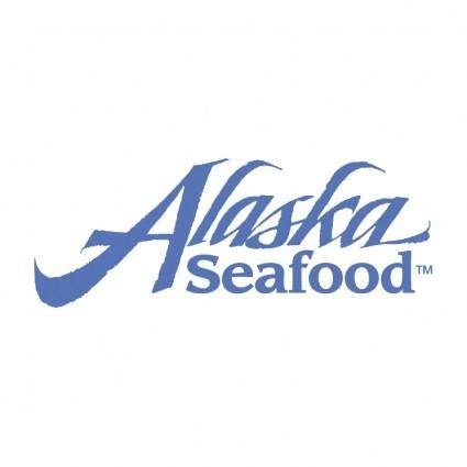 free vector Alaska seafood