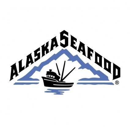 free vector Alaska seafood 0