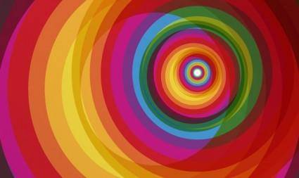 Colorful Circle Vector Art