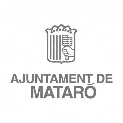 free vector Ajuntament de mataro