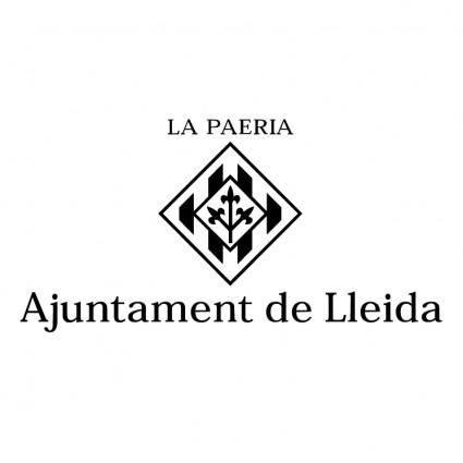 free vector Ajuntament de lleida