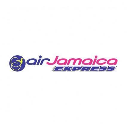 free vector Air jamaica express