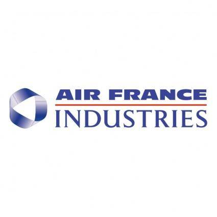 free vector Air france industries