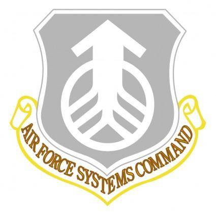 free vector Air force systems command