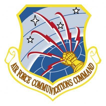 free vector Air force communications command