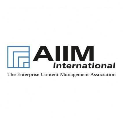 free vector Aiim international
