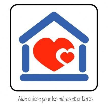 free vector Aide suisse pour les meres et enfants