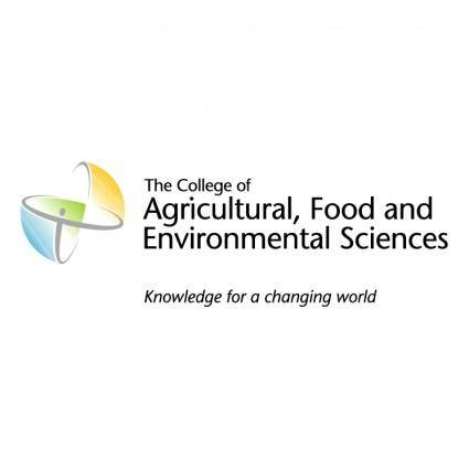 Agricultural food and environmental sciences