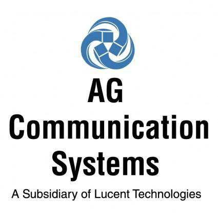 Ag communication systems 1