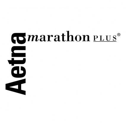 free vector Aetna marathon plus