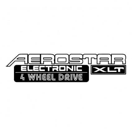 Aerostar electronic xlt