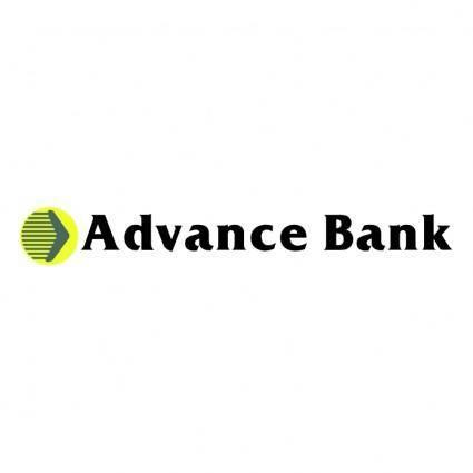 free vector Advance bank