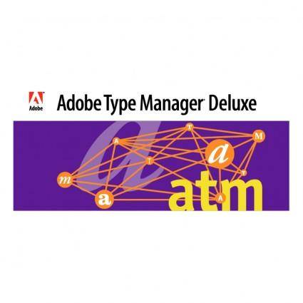 free vector Adobe type manager deluxe 0