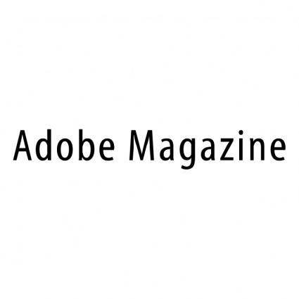 free vector Adobe magazine