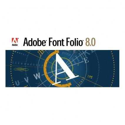 free vector Adobe font folio