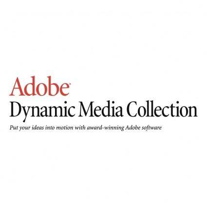 free vector Adobe dynamic media collection