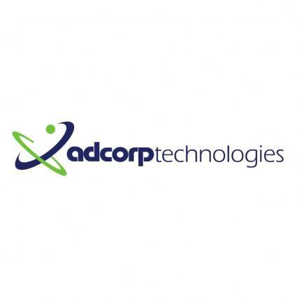 free vector Adcorp technologies