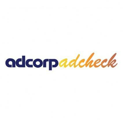 free vector Adcorp adcheck