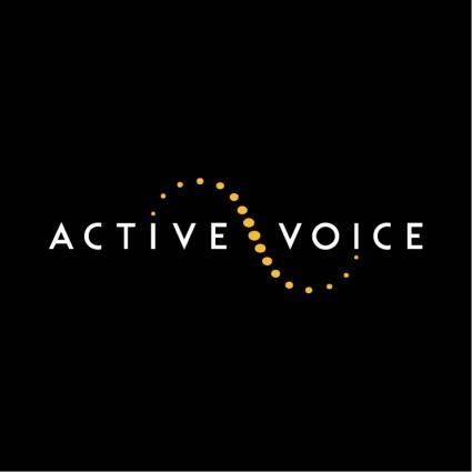 free vector Active voice 0