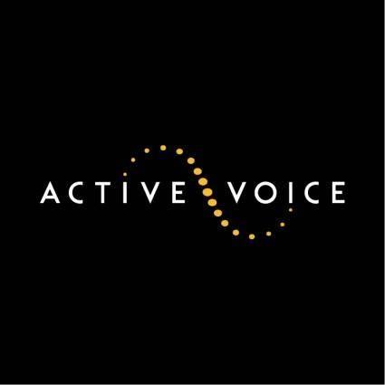 Active voice 0