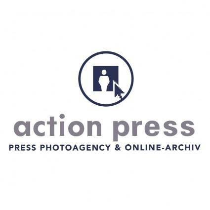 free vector Action press
