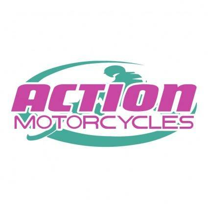 free vector Action motor cycles