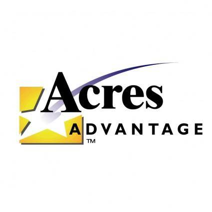 free vector Acres advantage
