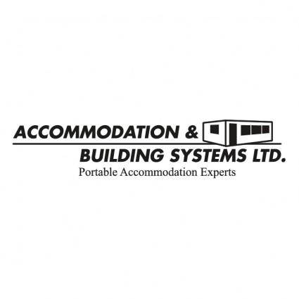 Accommodation building systems