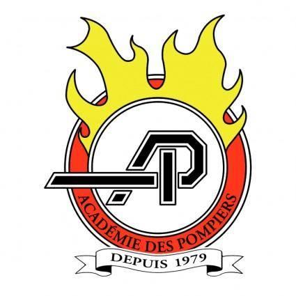 free vector Academie des pompiers