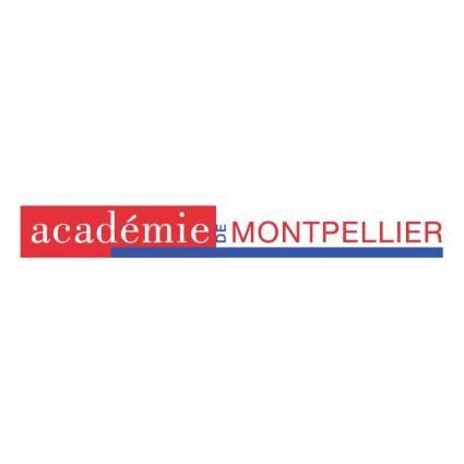 free vector Academie de montpellier