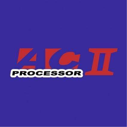 free vector Ac ii processor