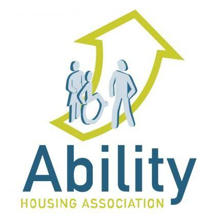 free vector Ability housing association