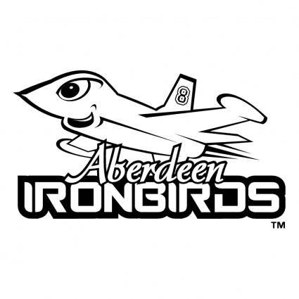 free vector Aberdeen ironbirds